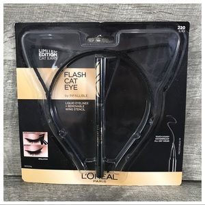 L'Oréal Paris Cat Eye Liquid Eyeliner Ears Stencil